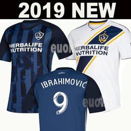 Futebol galaxy on-line-NOVA 2019 IBRAHIMOVIC LA Galaxy camisas de futebol 19/20 Tailândia Los Angeles Galaxy GIOVANI COLE ALESSANDRINI CORONA kit de futebol top camisas