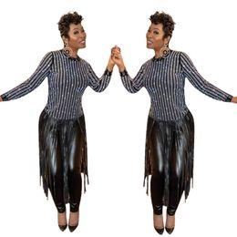 Acheter Robe D'été Deux Pièces Costume Femmes Costume Femmes Pull Blouse Blanche + Jupe Longue Maille Noire De $61.31 Du Despicable_me | DHgate.Com