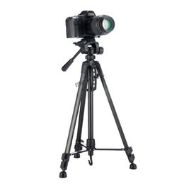 2019 nouveaux caméscopes professionnels Support pour trépied professionnel pour caméscope WF-3520 noir de 140 cm 55 pouces pour trépied extenseur pour photo promotion nouveaux caméscopes professionnels