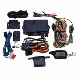 La versione russa Accessori + Avvio Motore LCD cassa chiave telecomando + For Two Way sistema di allarme auto per Twage Starline B9 da