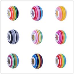 Deutschland Europäische 1 stück Neue Regenbogen Murano Glasperlen Fit Pandora Charms 925 Armband Für Frauen Männer Kreative Diy Schmuck El080 Versorgung