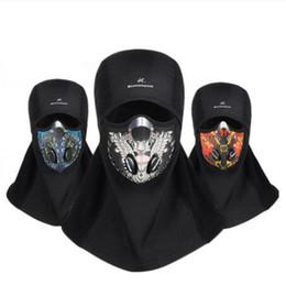 mascara de entrenamiento para Rebajas Invierno Ciclismo mascarilla de la máscara de esquí Formación de polar a prueba de viento caliente Máscara del Snowboard del sombrero del protector de bicicletas pasamontañas para los hombres