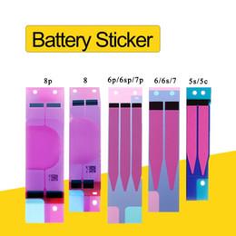 Autoadesivo della batteria di iphone online-Sticker batteria Nastro adesivo Colla per nastro alloggiamento posteriore posteriore Striscia Sticker Batteria di dissipazione di calore per l'iphone 5 6 7 8 6s più X XS MAX XR