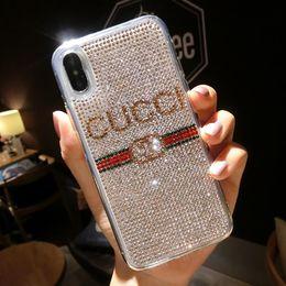 iphone цветные спины Скидка 2019 новый бренд моды роскошный телефон чехол для iPhoneXSMAX XS XR X 7Plus / 8Plus 7/8 6 / 6S 6 P / 6sp дизайнер популярный защитный задняя крышка