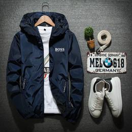 2019 modelli 3d personalizzati Bosses Designers Giacche Capispalla hugo lusso Giacca Uomini Donne Windbreaker Baseball Wintercoat Mens Jacket Size S-7XL