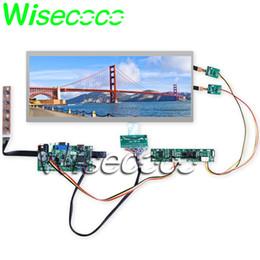 test dei driver Sconti Nuovo originale C123HAN01.0 C123HAN01.1 Schermo LCD da 12,3 pollici Kit scheda driver HDMI VGA DVI Testato da una