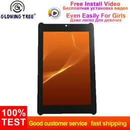 monitor vetro touch screen Sconti Per Asus Fonepad 7 LTE ME372 ME372CG K00E Sensore touch screen Digitalizzatore Vetro + Display LCD Pannello Modulo monitor