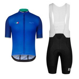 Men s short sleeve Cycling Jersey Rapha UCI team Custom top Anti-UV Quick  Dry Cycling Jersey set world Bicycle race bicycle equipment 1dbc27128