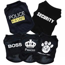 vêtements chihuahua pour hommes Promotion Cute Pet Dog Cat Gilet Vêtements Petit Pull Chiot Doux Manteau Veste D'été Vêtements De Bande Dessinée T-shirt Pas Cher Jumpsuit Outfit Pet Supply