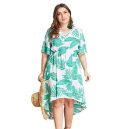 vêtements de célébrités Promotion 2019 Vêtements à la mode Robe Celebrity Plaid à col en V Ceintures Taille haute Plus taille robe Femmes Vesitdo Soirée Flare Sleeve Femme Robe