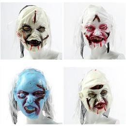 slipknot gesichtsmasken Rabatt Scary Party Halloween Maske Halloween Horror Maske Hallow Party Dekoration Vollgesichts Horrible Slipknot Adult Supplies