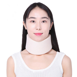 2019 protetores de espuma Espuma firme Apoio Cervical Collar Apoio Ombro Alívio Da Dor Neck Neck Brace Collar Protetor de Pescoço Órtese LLA477 protetores de espuma barato