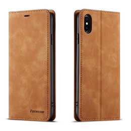 mini custodia m8 Sconti Per iPhone X Xs XR Xs Max Custodia in pelle PU Custodia in pelle per iPhone 6s 7 8 Plus Custodia in pelle PU