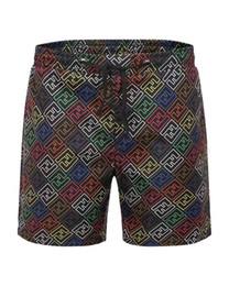 pantalones cool mens Rebajas Estilo de verano para hombre Secado rápido Respirable Cool Beach Pantalones cortos Cintura elástica Pantalones cortos Bottoms masculinos