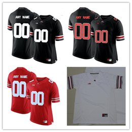 9930b79a27d Custom Mens Ohio State Buckeyes College Football Limited white red black  gray Personalized Stitched Any Name Number 16 Barrett Jerseys S-3XL  personalized ...
