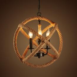 Mordern rope Retro pendant lights Edison Lights fixtures lustre industriel iron Loft Antique DIY E27 Art Spider Ceiling Lamp14