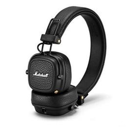 auriculares profesionales de dj Rebajas Marshall Major III 3.0 auriculares Bluetooth con micrófono Deep Bass Hi-Fi DJ Headset inalámbrico Major 3 Professional para iphone X Samsung
