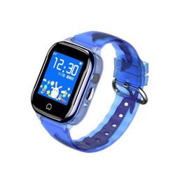 teléfonos firefox Rebajas Aj530 GPS para niños reloj teléfono translúcido protección para los ojos HD pantalla táctil profundidad cámara resistente al agua reloj inteligente