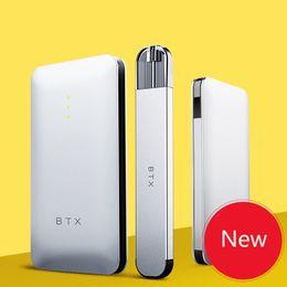 Deutschland BTX neuen Stil 220mAh Slim E-Zigarette Touch Vape Pen Starter Kit mit 720mAh Power Bank magnetische absorbierende Ladung Versorgung
