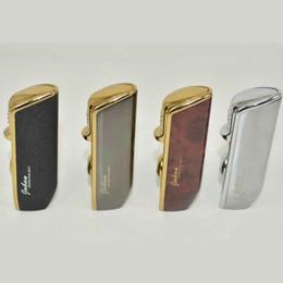 encendedores de gas jobon Rebajas Antorcha Jet encendedor de butano de cigarrillos a prueba de viento Marca Jobon encendedores 3 tres antorchas cigarro con la caja de regalo No Gas Herramientas de fumadores, Accesorios