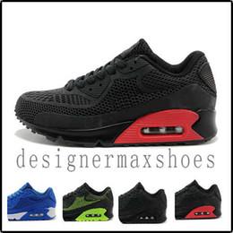 Precio medio 2019 Designer shoes men women Nike AIR MAX Nuevo Cojín 90 KPU Hombres Mujeres Zapatos deportivos Zapatillas clásicas de alta calidad Baratas 11 colores Zapatillas desde fabricantes