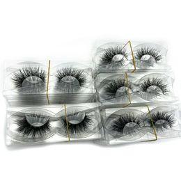 6abeeab0791 Mikiwi wholesale pack 3D Mink Lashes No packaging Full Strip Lashes Mink  False Eyelashes custom box Makeup eyelashes