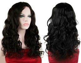 moda ricci vergini parte anteriore dei capelli wiglace parrucca glueless parte libera 24inch 150% i capelli lunghi parrucca di riserva da