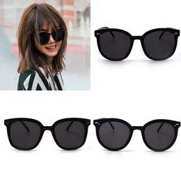 c65f8106092 JackJad 2019 Fashion Modern Women Korean Style Rivets Sunglasses Black  Vintage Classic Brand Design Sun Glasses Oculos De Sol