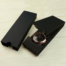 Argentina Caja de reloj Pantalla de visualización Accesorios de embalaje Caja de regalo Relojes de pulsera Caja de embalaje plegable Negro 17x6x2.3cm ZC0232 cheap wrist watch accessories Suministro