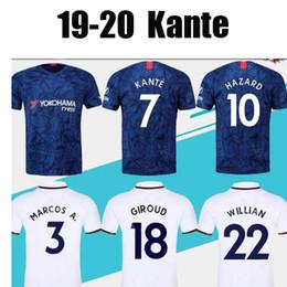 2019 jerseys de epl 19 20 KANTE Soccer Jersey HIGUAIN PELIGRO PEDRO MORATA GIROUD WILLIAN FABREGAS JORGINHO Hombres camiseta de fútbol uniforme