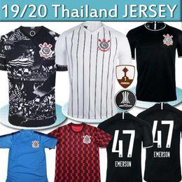 camiseta do brasil Desconto BEST Brazil Sport Club Corinthians 2019 2020 Futebol Camisetas JADSON RONALDO SOMOZA CLAYSON JANDERSON 19 20 Paulista de futebol
