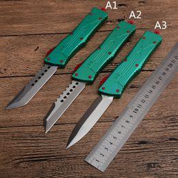 Coltelli da caccia online-MT UT A10 coltello Bounty Hunter automatico Pocket Knife D2 lama in lega di alluminio tattico AUTO CNC A07 616 BM UTX coltello
