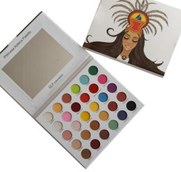 set di pennelli nudo Sconti 2019 new Makeup GLF Cosmetics Princess Azteca Palette 30colors Eyeshadow Palette 30 Color Matte Shimmer Eye Shadow
