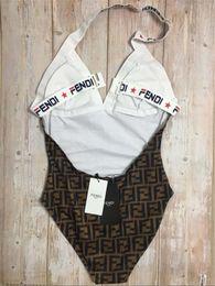 almohadillas de playa Rebajas F Imprimir traje de baño acolchado Push Up Bikini de una pieza de las mujeres al aire libre Baño de la playa Diseñador Vendaje traje de baño Envío Gratis