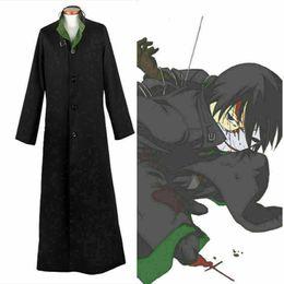Cosplay negro mas oscuro online-NUEVO Anime Darker Than Black Hei Cosplay Uniforme Outfit Halloween