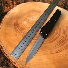 Handle Micro-Tech faca D2 Aço Alumínio Faca Caminhadas auto-defesa Tactical Camping EDC Ferramenta de corte de Fornecedores de facas de fanfarrão