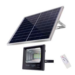 60 W Güneş Sokak Işık Açık Işıklandırmalı Uzaktan Kumanda ile 120 LED Çip Yüksek Parlaklık Emniyet Işık LED Çip IP65 Su Geçirmez Mühendislik lamba cheap remote control chips nereden uzaktan kumandalı cips tedarikçiler