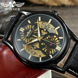 Argentina GANADOR Hombres Reloj de primeras marcas de lujo deporte mecánico automático reloj de pulsera esqueleto nuevo reloj masculino relogio masculino 0622 supplier winner skeleton watch sport Suministro