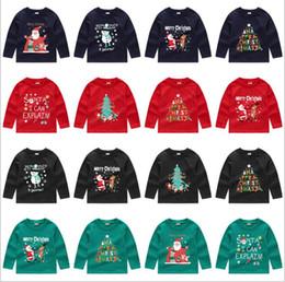 camisolas de manga comprida Desconto Crianças Designer de Roupas de Natal Camisola Hoodies Casaco Casaco Moda Jaquetas de Manga Longa Outwear Camisolas Jumper Pulôver Tops B6011