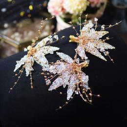 20Pcs Femme Cristal Strass Papillon épingle à Cheveux Clips Mariage Bridal