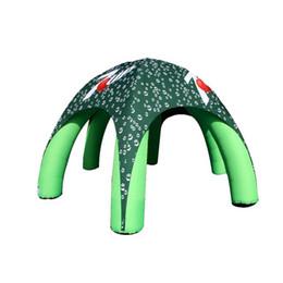 Tente sur mesure gonflable d'araignée d'explosion de tente de dôme d'araignée de six jambes avec l'impression faite sur commande et le ventilateur bas Dia0.7x5xH4 m ? partir de fabricateur