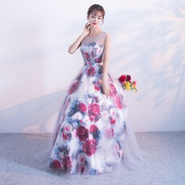 12ad4a9d3d Discount married dress picture - Bridesmaid Serve Banquet Together Land  Long Fund Party Marry Evening Dress