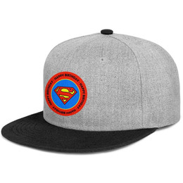 superman prints Coupons - Custom fitted Men Women ball hat comics superman classic logo classic round sticker flat Brim Hip Hop Snapbacks cap Vintage mens hats