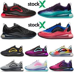 nike air max airmax 720 scarpe da corsa per uomo donna Be True Pride Triple nero bianco Volt Gym rosso SEA FOREST uomo da ginnastica moda scarpe da