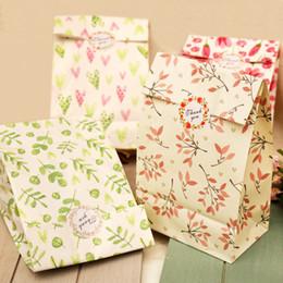 Deutschland 12 stücke Blumen Papier Geschenk Taschen mit Danke Papier Aufkleber Handwerk Geschenk Süßigkeiten Verpackung Taschen Hochzeit Geburtstag Party Dekoration cheap birthday decorations paper flowers Versorgung