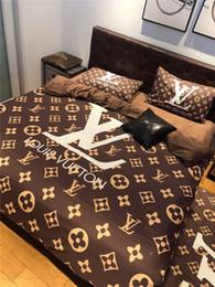 piumino moderno Sconti Set biancheria da letto di lusso classico Queen Size Set letto matrimoniale singolo Copripiumino Decorazione moderna Copripiumino con set di federe