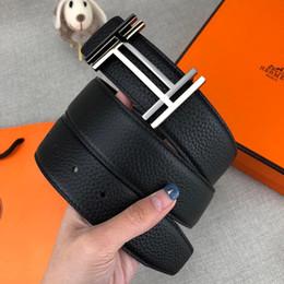 2019 cinturon hombre blanco 44 Nuevo Diseñador de estilo para hombre Cinturones Cinturón de lujo para hombre Cinturones de moda Casual Marca Suave Hebilla 3 Color Ancho opcional 38 mm Alta calidad con caja