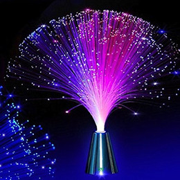 color changing fiber optic lights Coupons - YWXLight Beautiful Romantic Color Changing LED Fiber Optic Night Light Lamp