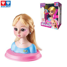 2020 cabelo de princesa AULDEY Balala Os Estilos fadas luxo Styling cabeça conjunto de acessórios de cabelo Fun Princess Make Up Beleza Brinquedos infantis meninas miúdos presentes 07 cabelo de princesa barato