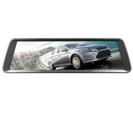 Espejos de cámara gps online-Anytek Car DVR Cámara Medios Retrovisor Espejo Alta definición 1080P Dash Cam Registrador Grabador de video DVRs Pantalla táctil G-sensor USB T90
